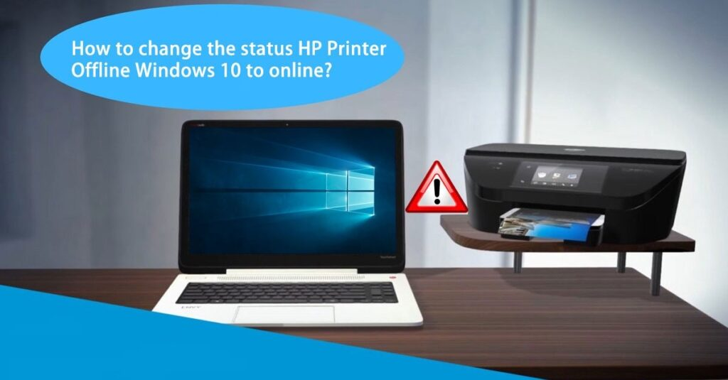 hp 3830 printer offline