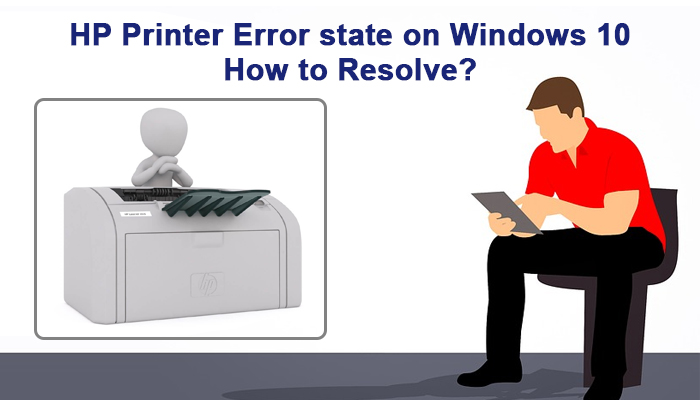 hp printer is in error state